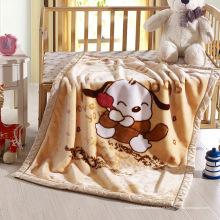 Cobertor grosso duplo Raschel para crianças