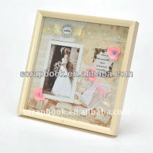 large wooden frame and photo holder funny photo frame