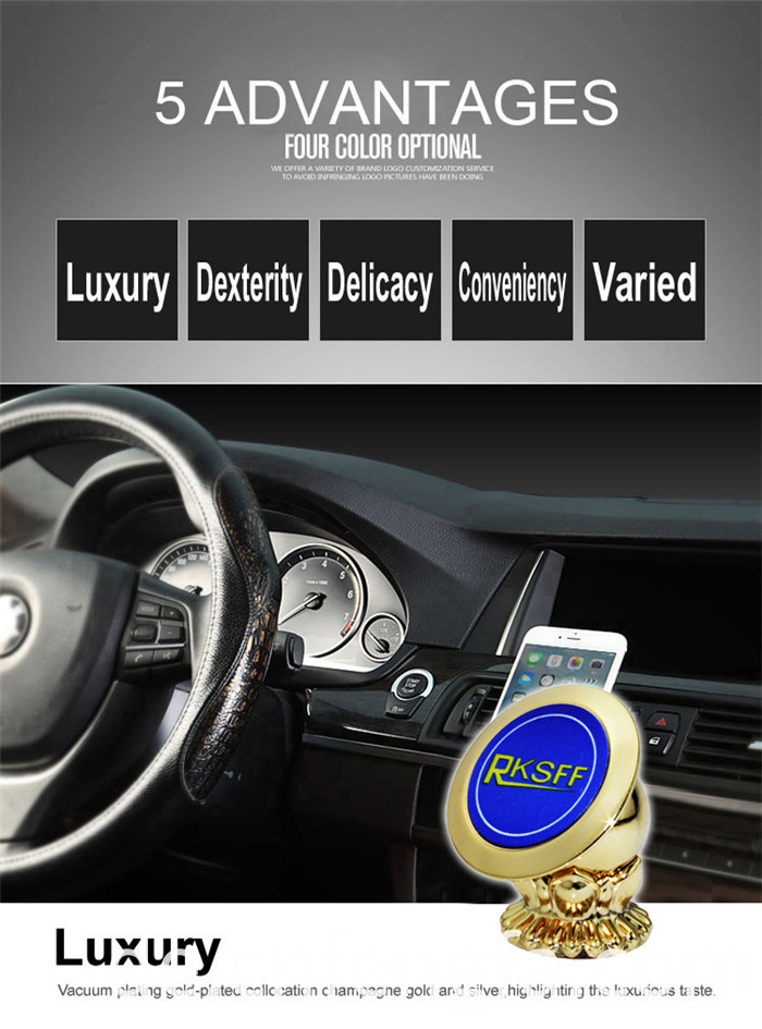Universal magnetic car phone holder Glod