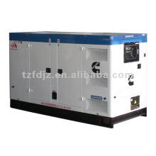 Vendas quentes!! O tipo 200kw grupo silencioso grupos de gerador diesel com água refrigerou o motor CUMMINS