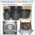 China flower pot mold manufacturer/plastic flower pot injection mould