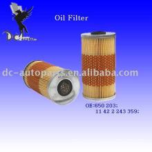 Filtro de aceite Element 650 203 para Land Rover