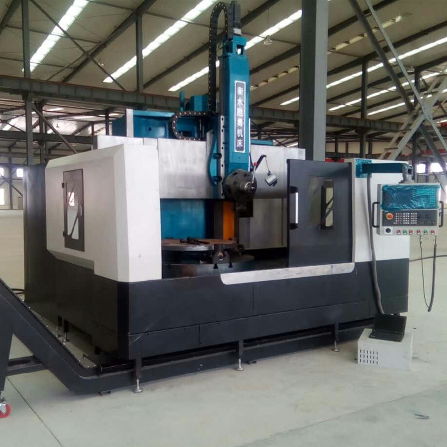 Heavy duty vertical cnc lathes