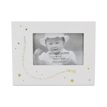 Silk-Screen Wooden Picture Photo Frame for Home Deco