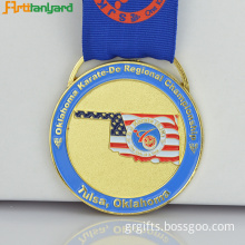Gold Medal Made By Zinc Alloy