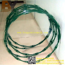 PVC Coated Welded Concertina Wire
