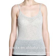 15STC6306 cashmere cotton camisoles