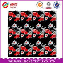 Китай поставщик печать простыня комплект постельных принадлежностей ткани