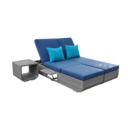 Sun Lounger - Dossier ajustable à 4 positions