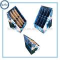 Heißer verkaufender Pappanzeigen-gewölbter Regenschirm-Stand