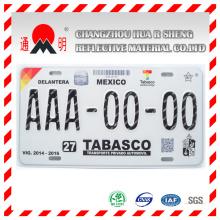 Nouveau Standard acrylique Type feuilles de plaque d'immatriculation réfléchissantes (TM8200)
