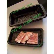 Europa-Markt-populäre Fleisch-u. Nahrungsmittelindustrie Gebrauch-Tiefkühlkost-Behälter-Verpackung hergestellt von umweltfreundlichem pp./pet