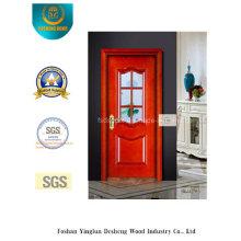Puerta de acero de seguridad Simplestyle con vidrio para interiores y exteriores