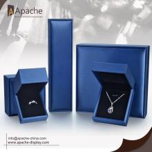 Brush Pu Leather Jewelry Gift Box