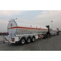 2016 quente alumínio 45m 3 tanque Semireboque, caminhão-tanque