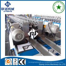 Herramienta gabinete rack de metal de rollo que forma la máquina