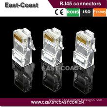 Crimp RJ45 connector 8P8C CAT5E Ethernet Cable Mocular Plugs