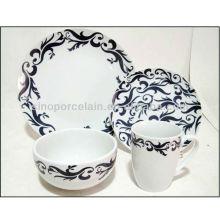 Cena de golpes de porcelana 16pcs por favor conjunto BS130304B