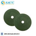 Outils abrasifs verts de disque de polissage de roue de coupe pour la vente