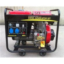 Generador diesel de tipo abierto de 3kw