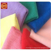 Prix: 100% serviette de toilette en microfibre, serviette de haute qualité, serviette en microfibre