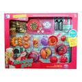 Küche Kochen Schneiden Essen spielen Spielzeug für Kinder