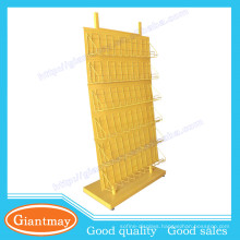 Metal pegboard supermarket 30 pockets display wire rack for seed