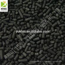 Экструдированный активированный уголь для использования в области очистки воздуха