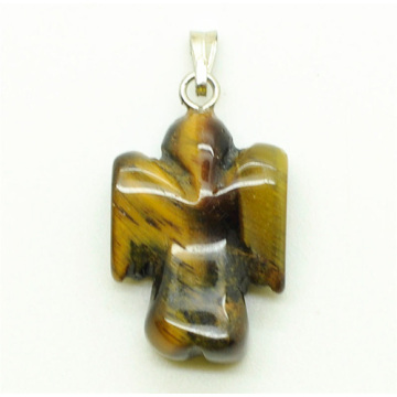 Shape Yellow Tiger eye pendant