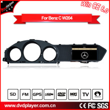 GPS Navigatior for Mercedes-Benz C W204 MP3/MP4/DVD Player