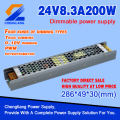 12v 24v 36v 48v dc smps 24volt 60watt led driver with 2 years warranty