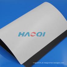 Ímãs de borracha brancos flexíveis da placa de observação da borracha do tipo macio de A3X1mm