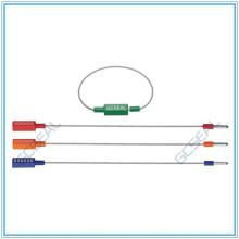 GC-C1802 регулируемые пластиковые кабель безопасности печать