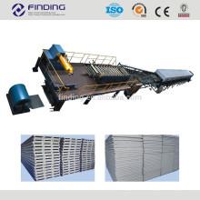 EPS espuma línea de producción de panel sándwich de poliuretano forma la máquina