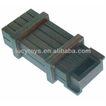 Holz Puzzle-Box