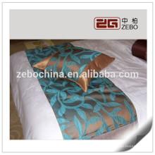 100% poliéster superior decoración de la venta cojín y cama corredor