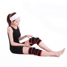 Uso médico Profesional de tamaño ajustable Material elástico Correr la rodilla Soporte
