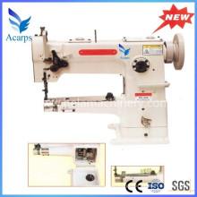 Máquinas de costura para roupas com cilindro de alimentação uníssono de agulha única