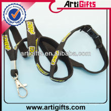 Factory supply tube polyester music lanyard