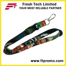 Kundenspezifische Polyester-Lanyard für Business Promotion