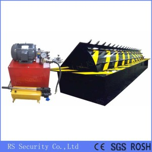 Hydraulic Rising Curbs Vehicle Road Blocker