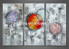 Hotel Decor Canvas Group Abstract Oil Painting 59737