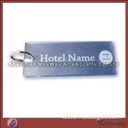 Hot selling quadrate acrylic lucite key chain key ring