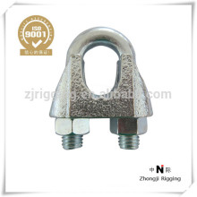 Malleable wire rope clip TYPE JIS with TYPE B