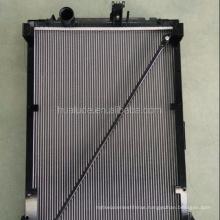 aluminum plastic truck radiator for CF truck