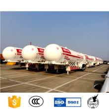 54000 litros GLP transporte acoplado tanque cisterna de GLP