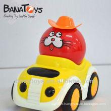 902016763 voiture de jouet de dessin animé RC, 4 fonctions, avec lumière, batteries non comprises