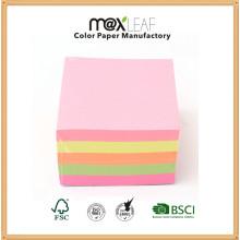 90 * 85 мм 4colors Смешанный цветной бумажный куб