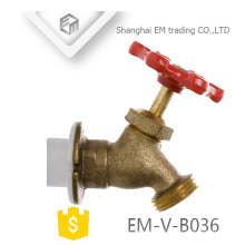 EM-V-B036 Angle type nature brass color copper bibcock