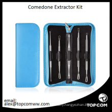 Blackhead Remover Facial Kit Comedone Extractor Tool Set Acne Pimple